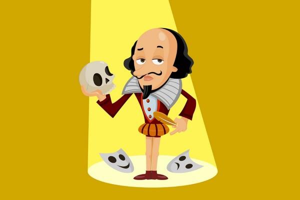 Shakespeare vient dîner