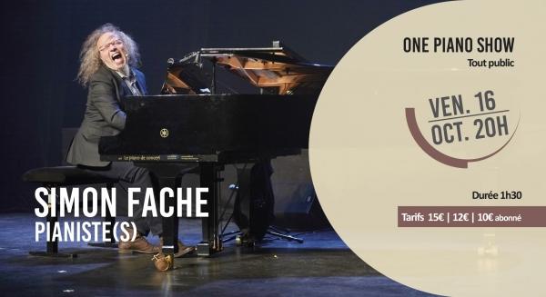 Simon Fache - Pianiste(s)