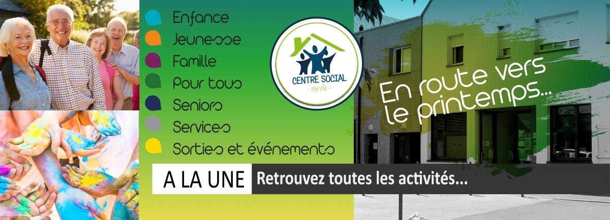 Brochure du Centre Social pour le printemps 2019