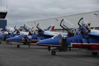 Meeting aérien : les répétitions de la patrouille de France mais pas seulement... - 2016